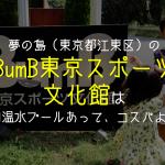 東京・夢の島の屋内プール「BumB東京スポーツ文化館」はウォータースライダーもあってコスパよし!!